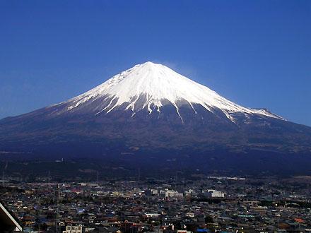身延線からの富士山