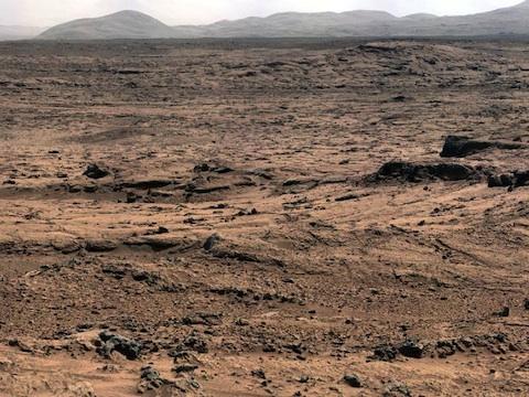 キュリオシティによる火星大地