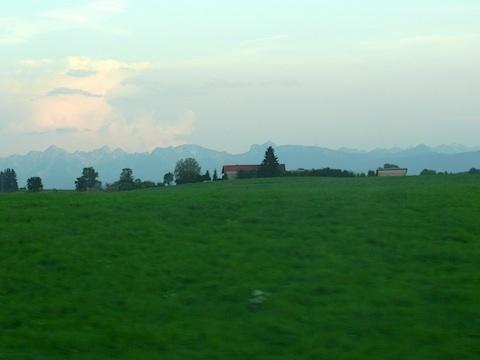 アルプスの山々
