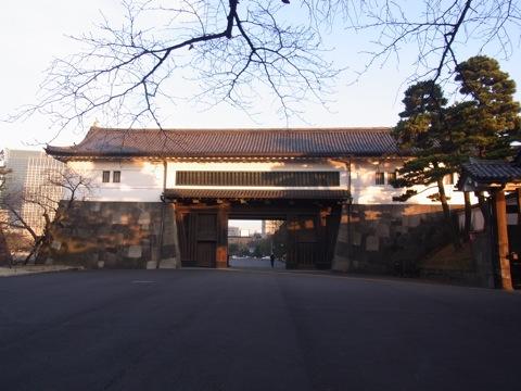 外桜田門の渡櫓門