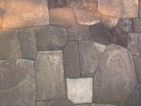 渡櫓門の石垣