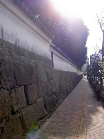 小石川後楽園の石垣